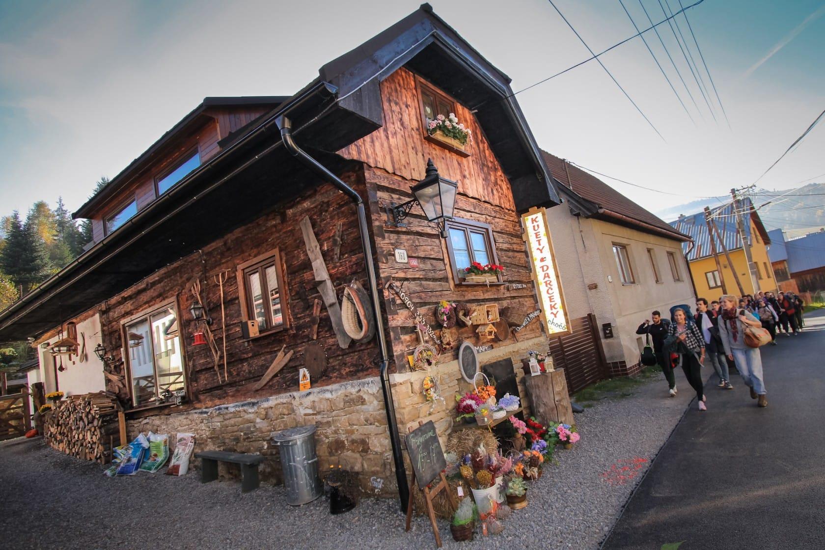 Architektura zrębowa na Słowacji - wyprawa I