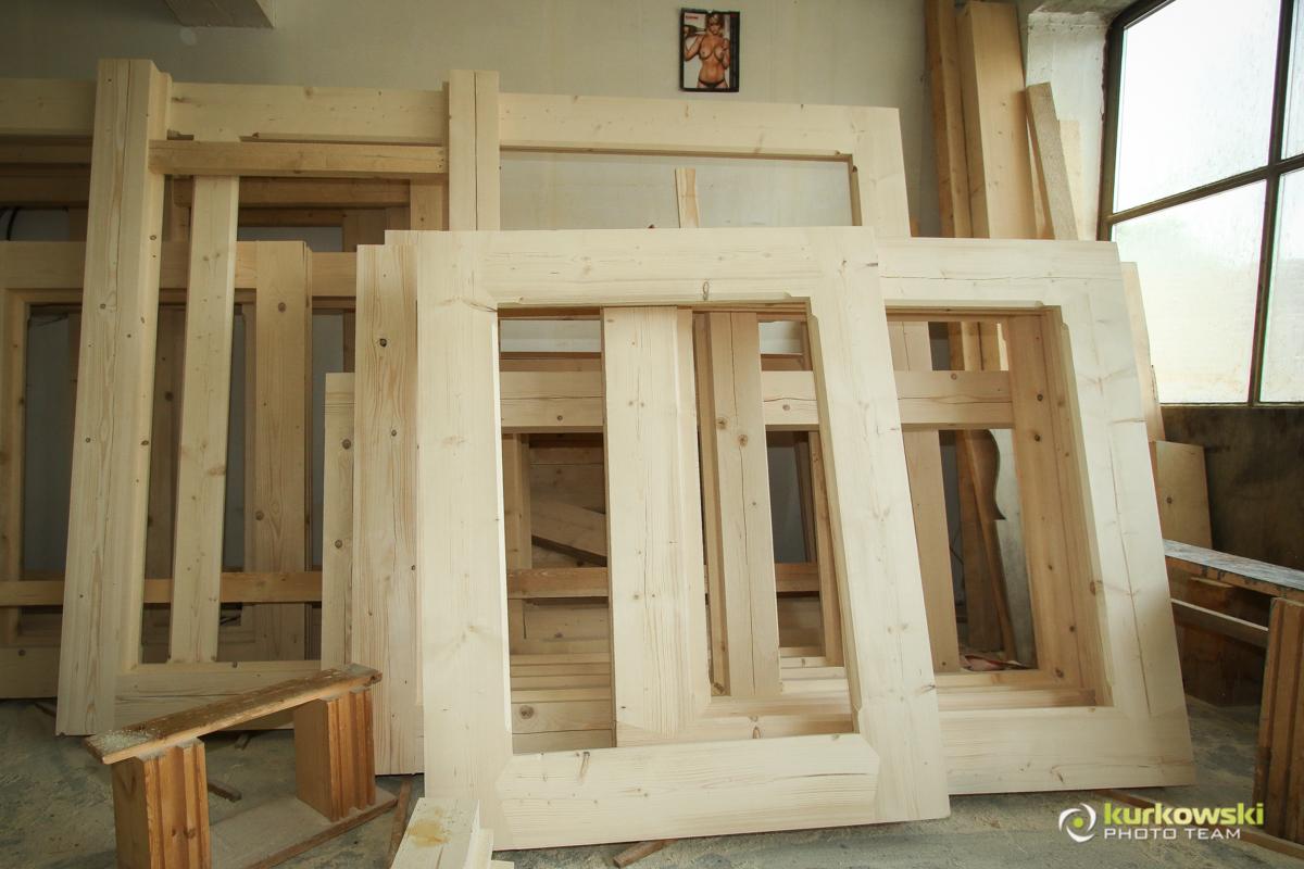 Budowa domu z bali - wizyta w Podczerwonem 19.05.2018