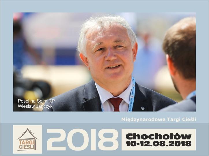 Zdjęcie dla Minister Wiesław Janczyk - patron honorowy II Edycji Międzynarodowych Targów Cieśli - Chochołów 2018