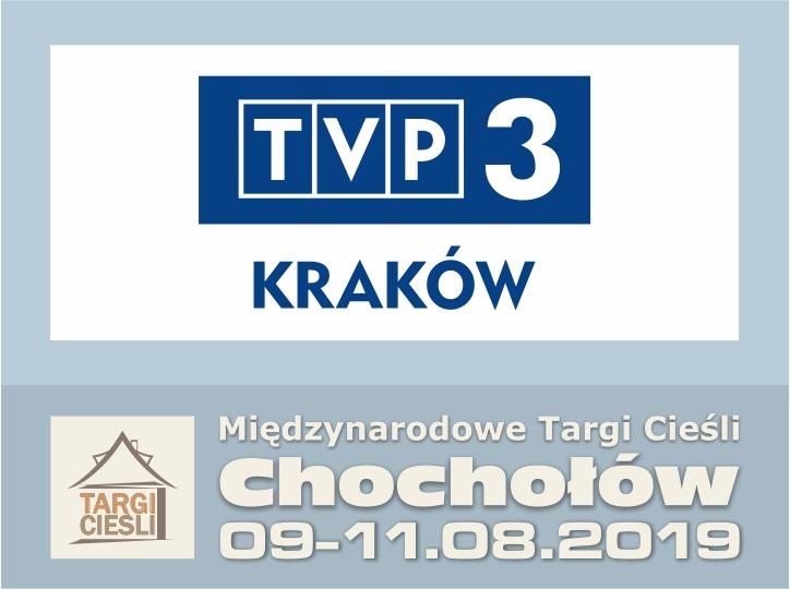 Zdjęcie TVP3 Kraków i Targi Cieśli