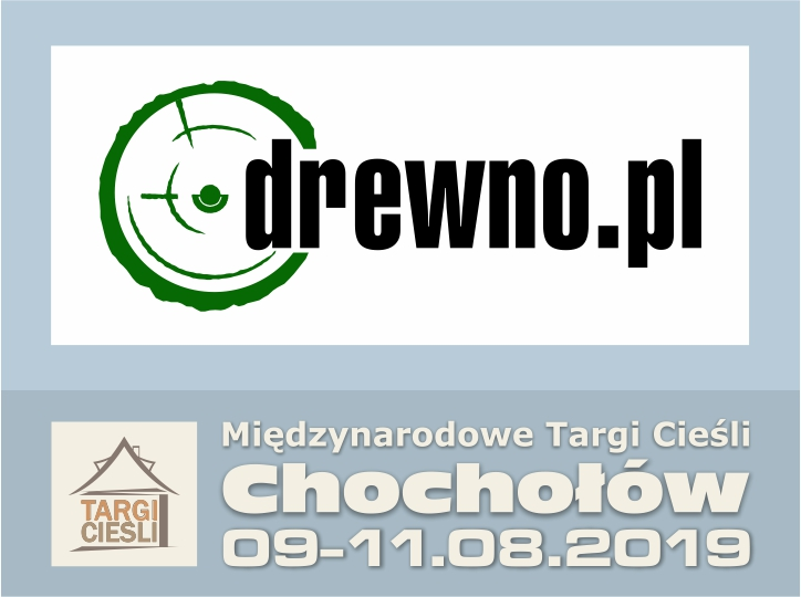 Zdjęcie Drewno.pl - portal internetowy kolejny raz Patronem Medialnym Targów Cieśli